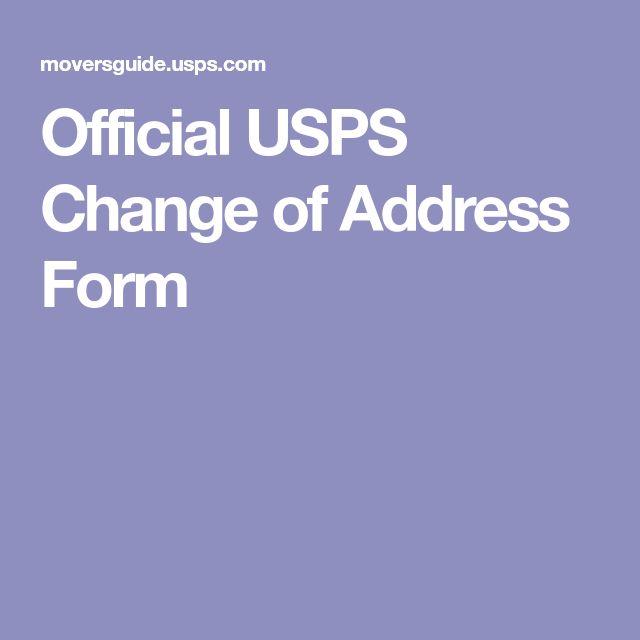 Best 25+ Change of address ideas on Pinterest Change address on - free change of address form online