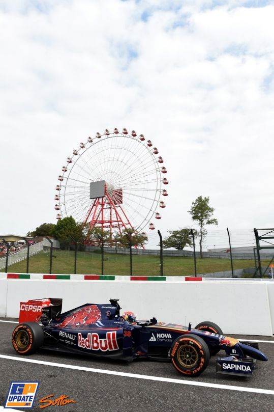 Max Verstappen, Scuderia Toro Rosso, Formule 1 Grand Prix van Japan 2014, Formule 1