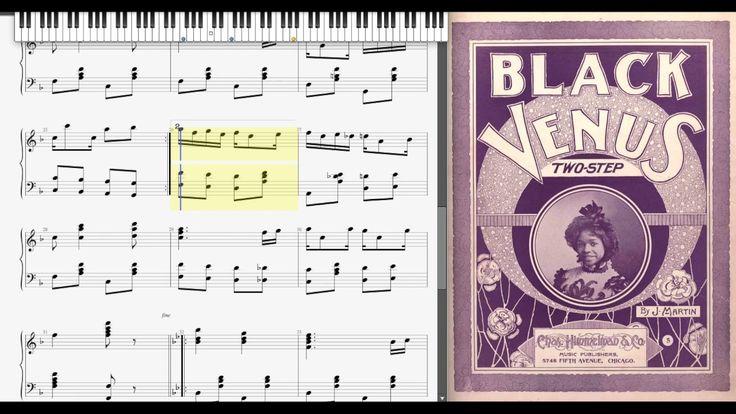 Black Venus by J. Martin (1900, Ragtime piano)