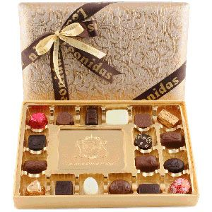 Crystal Beige - 24 Pieces Assorted Chocolates: Rs 3330/- http://www.tajonline.com/gifts-to-india/gifts-CPP17.html?aff=pinterest2013/