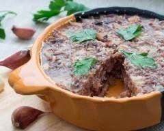 Terrine de joue de boeuf au vin rouge - Une recette CuisineAZ