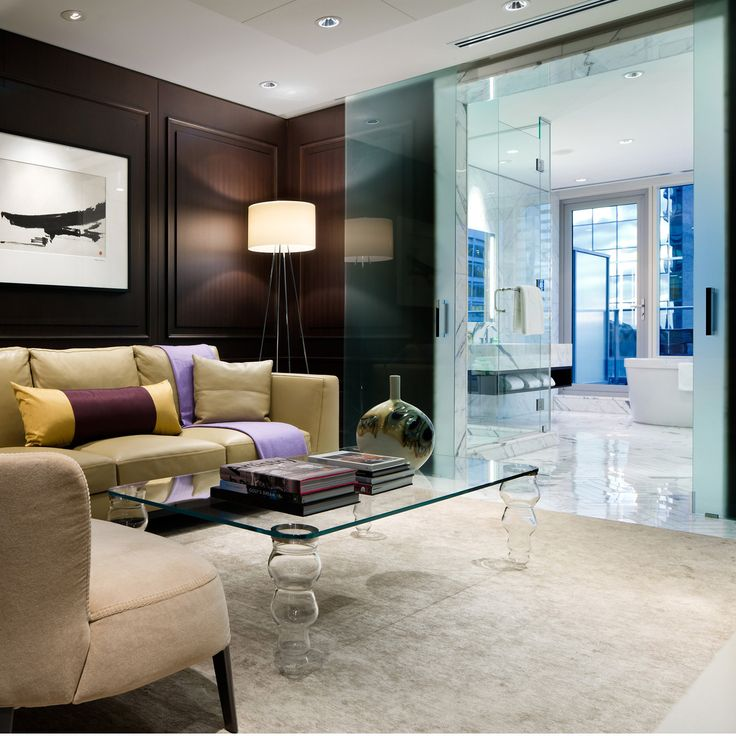 A Well Appointed Suite At The Shangri La Toronto Canada By B