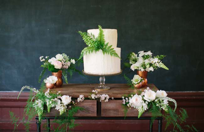 botanical cake