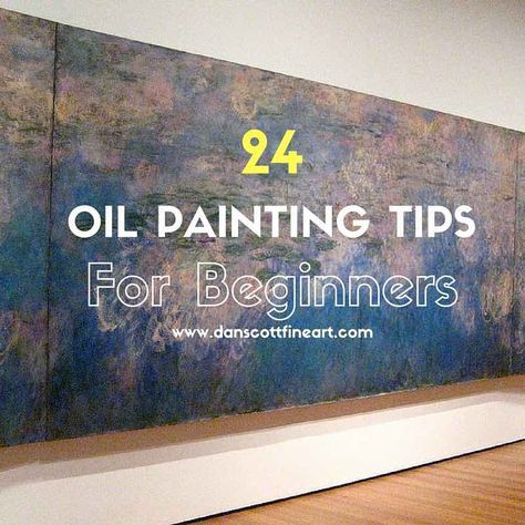 Check out my top 10 oil painting tips for beginners. Oil paints I find are extremely versatile when compared to acrylic & watercolor paints.