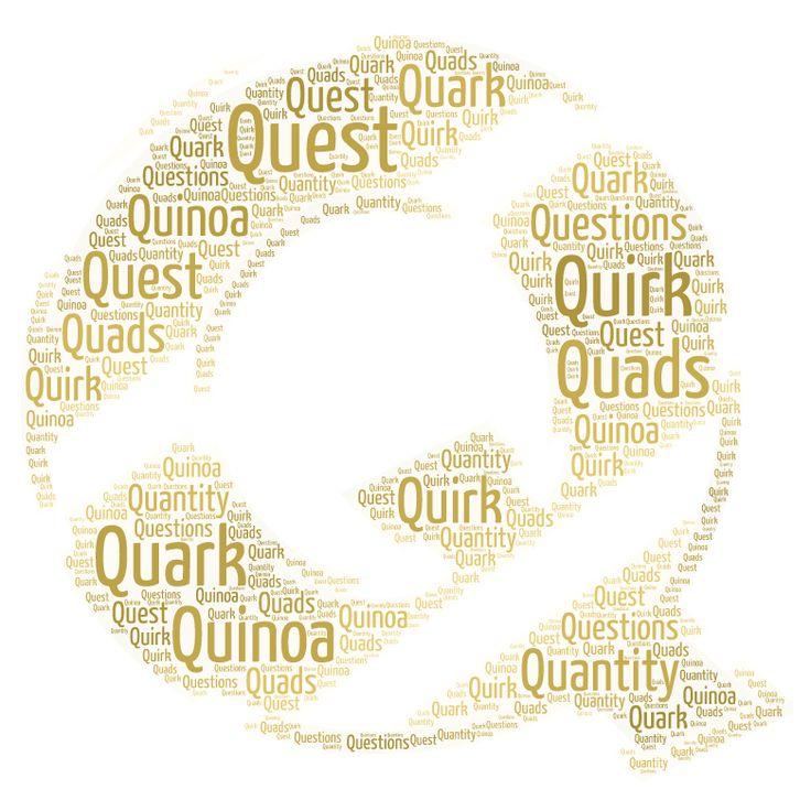 #AtoZChallenge    Q is for Quads & Quizzes