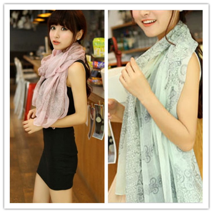 Cheap shawl pashmina, Buy Quality scarf tube directly from China scarf twist Suppliers:  Hot Ladies 5 Color New Women Cool Soft Skull Print Long Scarf Pashmina Wrap Scarf Shawl Scarves         Item specifics