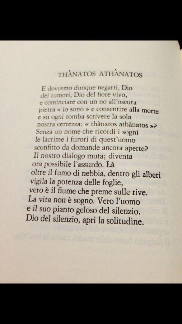 47 best quasimodo salvatore images on pinterest acts 13 ads and ancient greece - Poesia specchio quasimodo ...