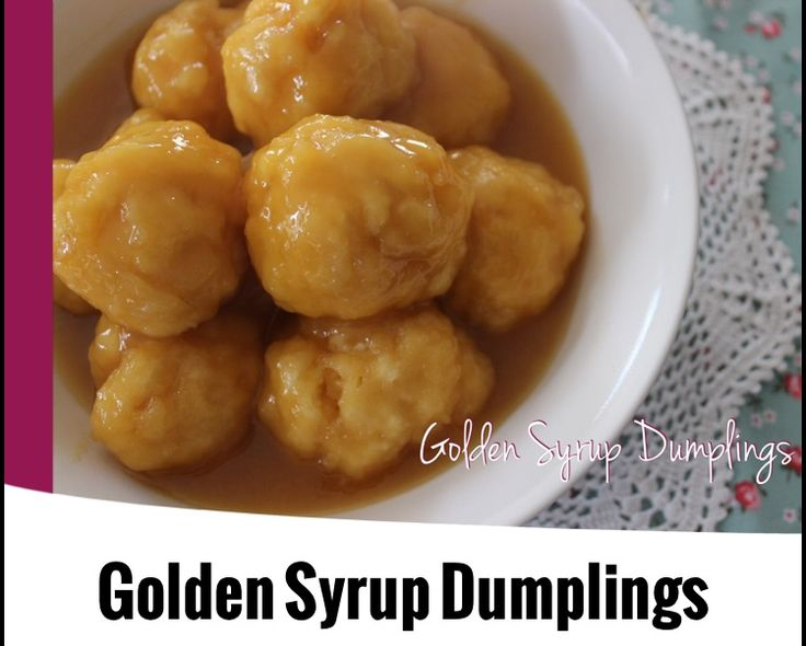 {Thermomix} Golden Syrup Dumplings