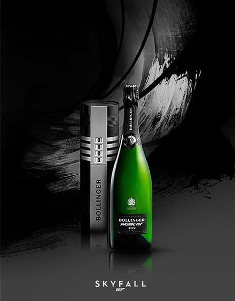 Bollinger release James Bond Skyfall champagne with code number 007