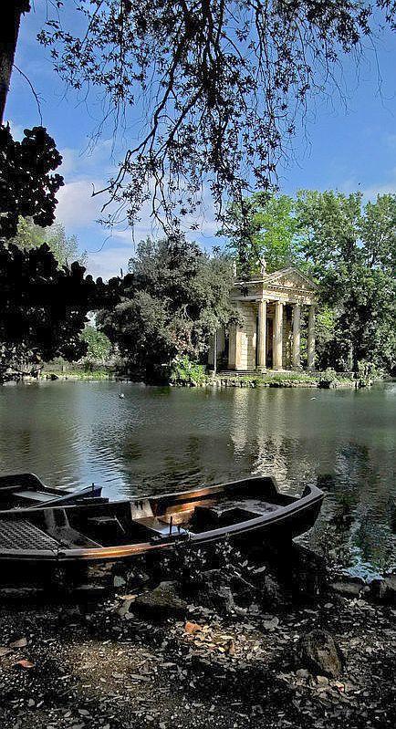 Villa Borghese Gardens, Rome