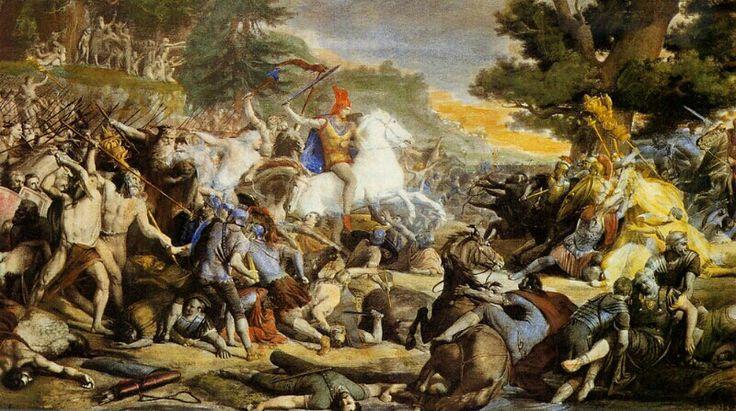 Friedrich Gunkel - La battaglia di Teutoburgo, 1862-64