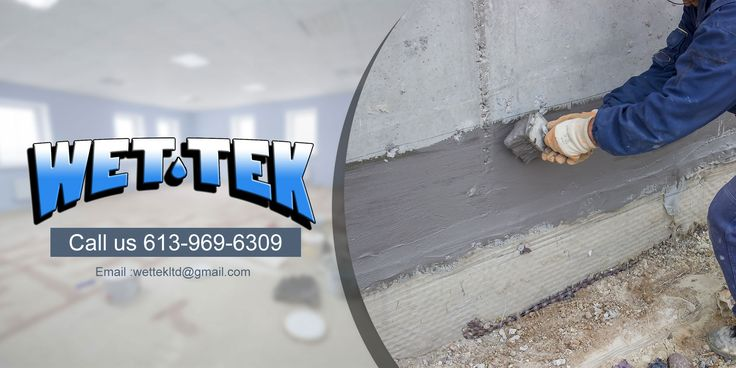 """Depending upon the age of your home, or how well the basement was built, you may have experienced water leakage, mould, or """"mildewy"""" smells. All of these are signs that the outer membrane is not doing its job. That's when foundation waterproofing is an important solution to consider.  #FoundationWaterproofingBelleville #FoundationWaterproofingTrenton"""