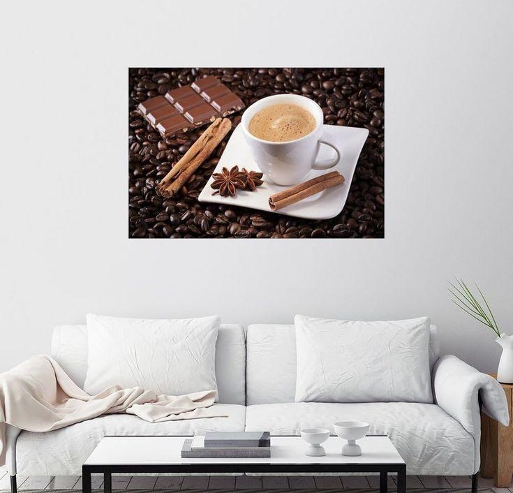 Posterlounge Wandbild – pixelliebe »Kaffee Schoko Genuss«