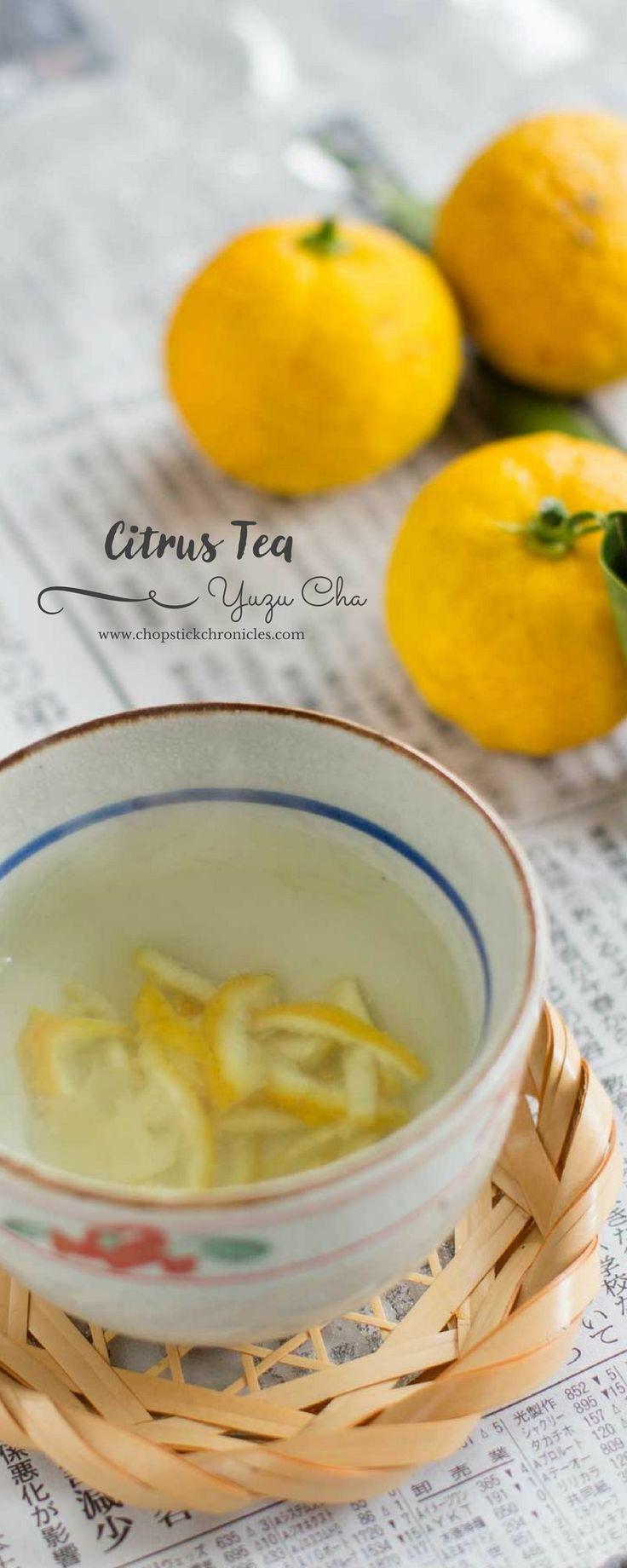 YUZU CHA JAPANESE CITRUS TEA ゆず茶