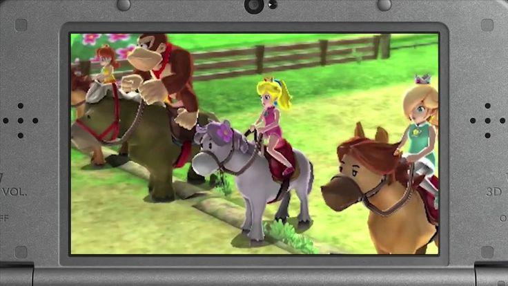 Mario Sports Super Star (Bill Trinen) Nintendo 3DS Direct 9.1.2016 - Rea...