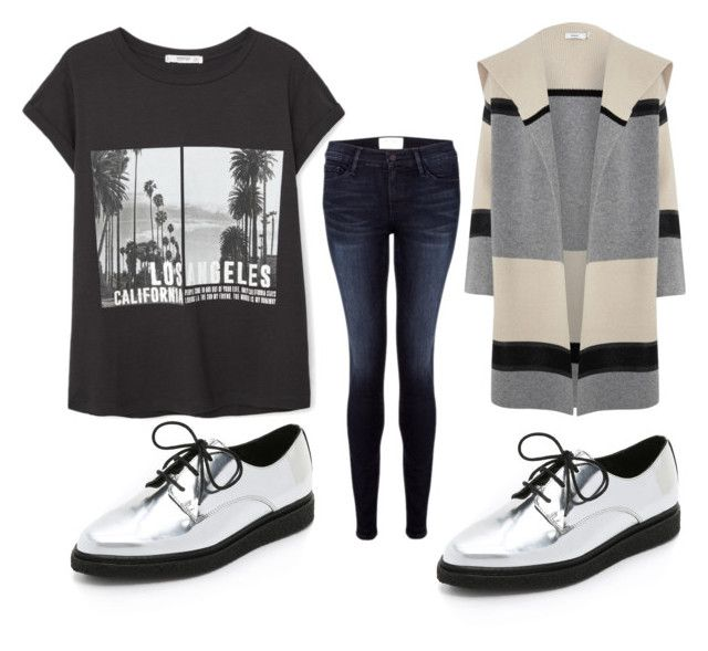 """""""Untitled #233"""" by voicuandrada on Polyvore featuring Opening Ceremony, Frame Denim, MANGO, Vince, women's clothing, women, female, woman, misses and juniors"""