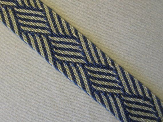 Tablet Woven Egyptian Diagonals Band