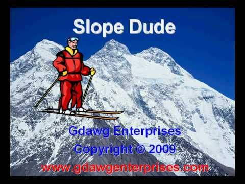 Slope Dude teaches students about positive, negative, zero, and ...