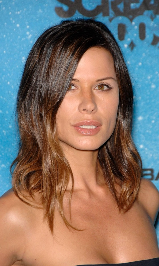 Rhona Mitra With Dip Dye Hair, 2009