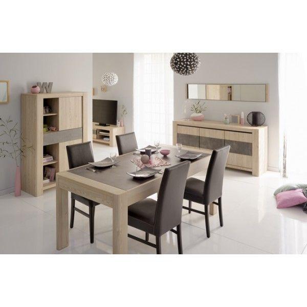 Dining room furniture | Set | Larch & Dark Putty