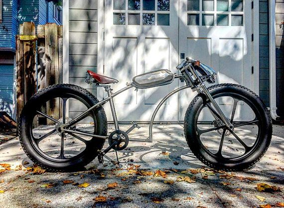 Custom Motorized Bike Moped Gas Tank Etsy Retro Bike Vintage Bicycles Cruiser Bicycle Accessories Custom Bicycle