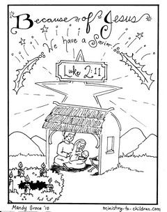 This Is The Final Sheet In Our Printable Advent Coloring Book For Children Each Picture Nativity