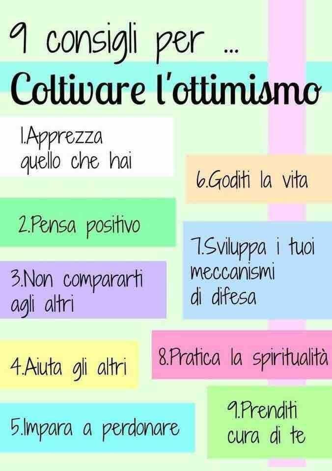 coltivare l' #ottimismo