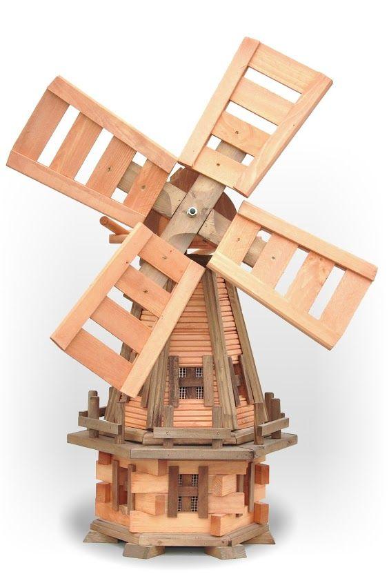 Solidny Wiatrak,drewniany wiatrak ogrodowy,dekoracje do ogrodu,wyroby z drewna ,wooden windmill, Garten Windmuhle,wiatraki ogrodowe