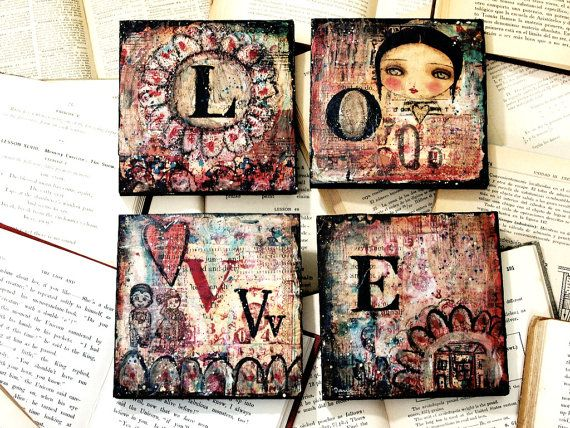 mixed media by Danita