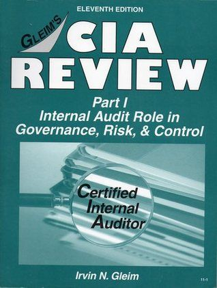 CIA Review, Part 1: Internal Audit Role in Governance, Risk & Control