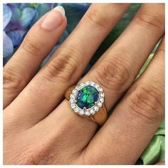 Pin for Later: 41 Real-Girl Engagement Rings You'll Obsess Over This Season Out of This World