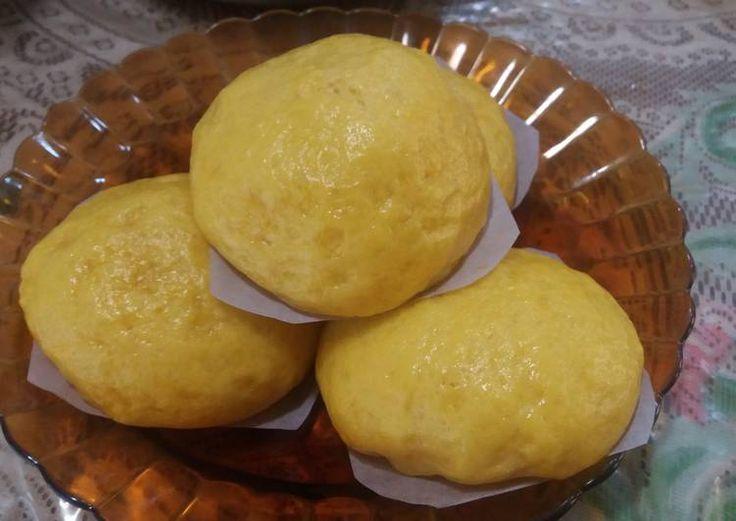 Resep Pao labu kuning/ pumpkin pao