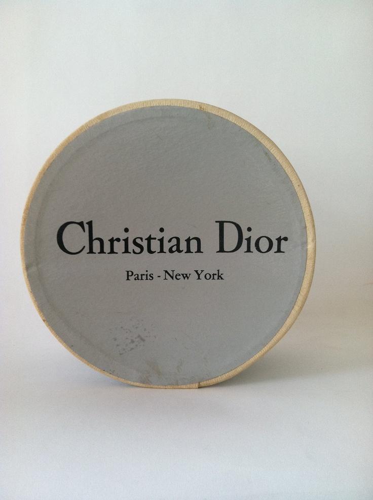 Vintage Dior Hat Box