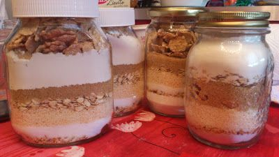 La Casin@ di Ale: {regali homemade} torta in barattolo riciclosa DIY