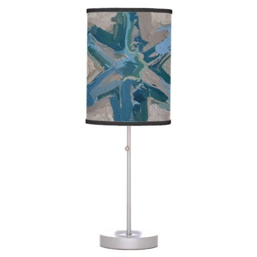 Aqua and Taupe Glaze #8295 Lamp in a Box, home decor. Wonderful  design for men, women, boys and girls.  $44.95