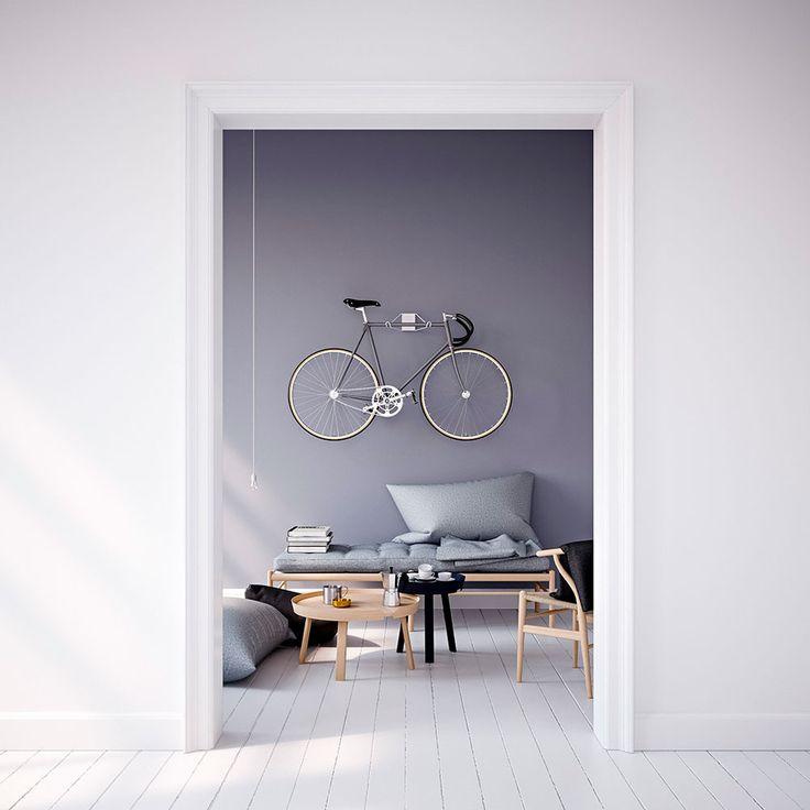 """Pincher""""Bike Hanger"""": Fahrrad-Halterung aus Stahl und Aluminium für die Wohnung"""