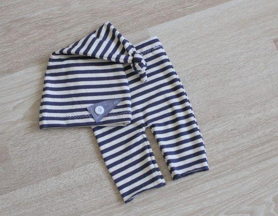 RTS Newborn short pants and hat Newborn by MoonlightLittleKnits