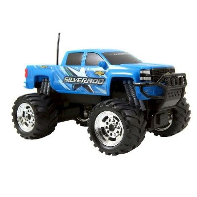 HyperChargers Just Truck R/C - 2014 Chevy Silverado, Blue