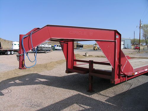 Used Gooseneck Flatbed Trailers