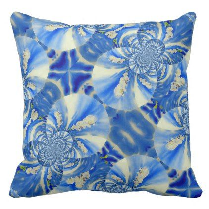 Orchid Breeze Mandala Throw Pillow - floral style flower flowers stylish diy personalize
