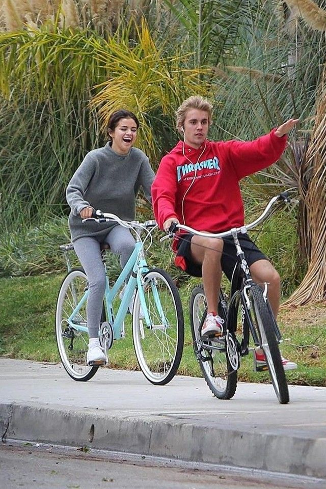 Justin Bieber wearing  Thrasher Skate Mag Hoodie, Daniel Patrick Track Trunk, Converse Chuck Taylor® All Star® Core Ox