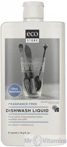 Ecostore Dishwash Liquid Fragrance Free 1L - Buy Online Australia   Mr Vitamins