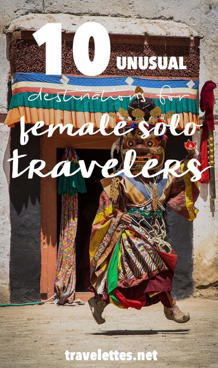 10 Underrated Destinations For Female Solo Travelers