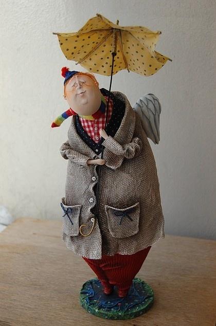 Коллекционные куклы ручной работы. Ярмарка Мастеров - ручная работа Дождик. Handmade.