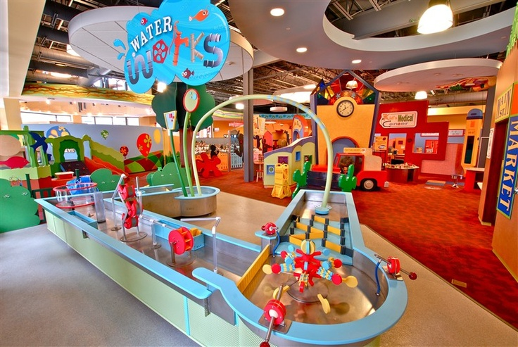 waterworks, childrens discovery museum, normal, il  Luxe Homes BN  Blo...