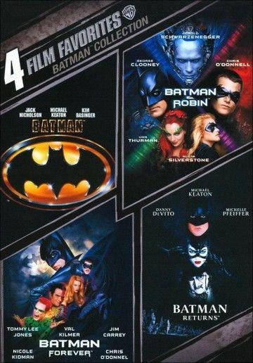 Batman Collection: 4 Film Favorites (2 Discs) (dvd_video)