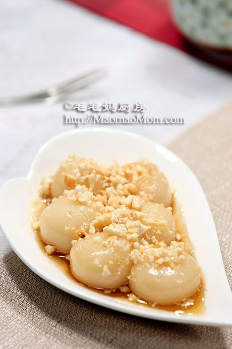 558 best mochi images on pinterest asian desserts japanese candy sweet glutinous rice balls with roasted peanuts by maomaomom this is hong kong style tang yuan made with glutinous rice flour ccuart Images