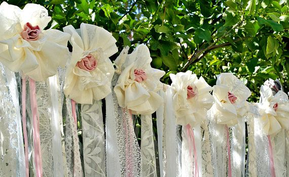 Boho Wedding Decor Wedding Backdrop Garland Shabby Chic