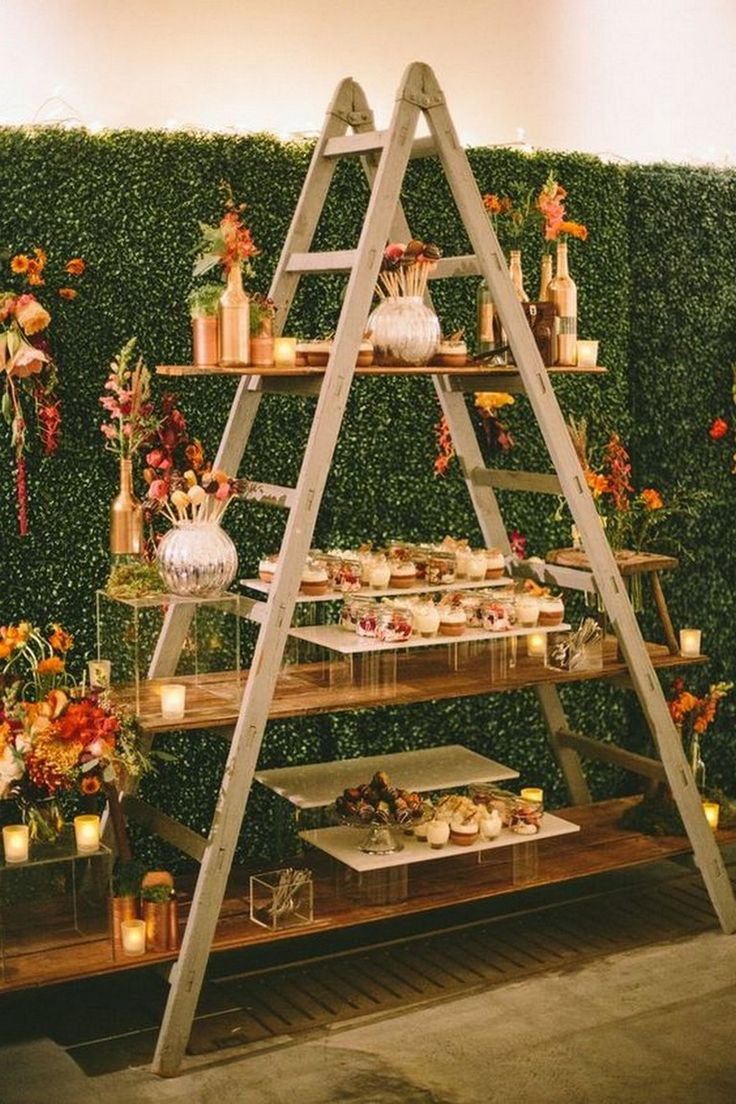 Decorative garden trees   Beautiful Garden Party Ideas for Your Wedding Party  Garden