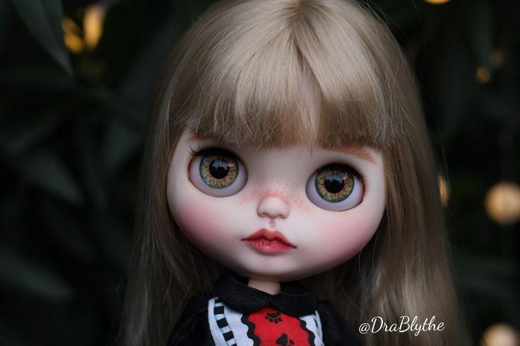 Harumi, custom doll by DraBlythe #blythe #doll